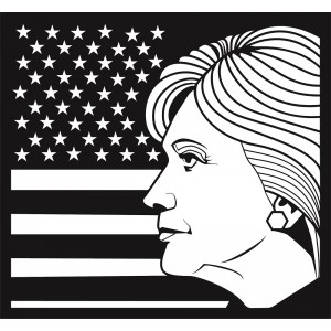 Sticker Hillary Clinton #S80