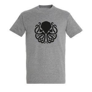 Men Octopus1 black grey